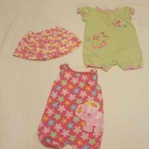 mixed Matching Sets - Bundle of baby girl clothes